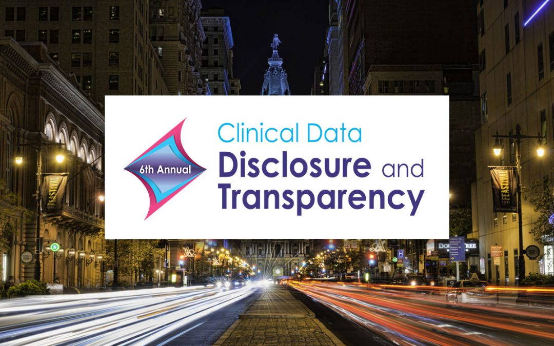 Xogene is Presenting at CBI's 6th Annual Clinical Data Disclosure and Transparency Conference | January 29-30, 2019 | Philadelphia, PA